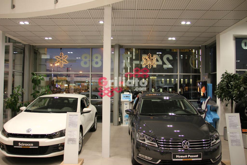 Грильято в салоне VW